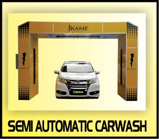 semi automatic carwash
