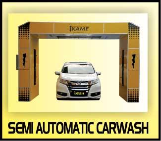 semi automatic carwash