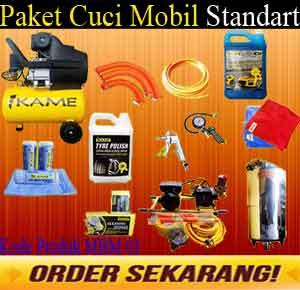 Paket Standart MBM 01 Paket Usaha Cuci Motor Standart