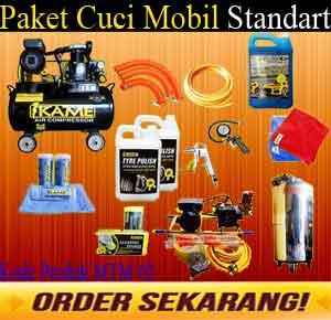 Paket Standart MtM 02 Paket Cuci Mobil Standart