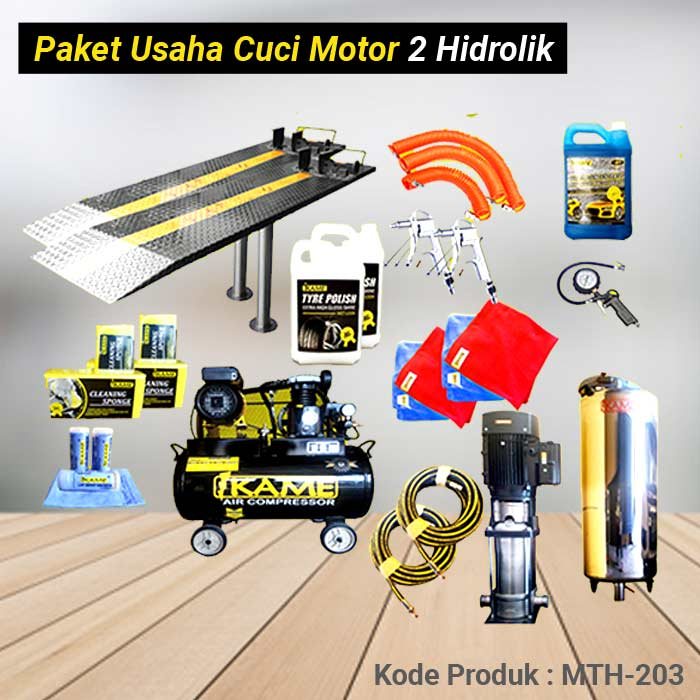 MTH 203 Paket Cuci Motor 2 Hidrolik