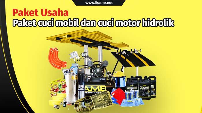 Paket Usaha Cuci Mobil dan Motor